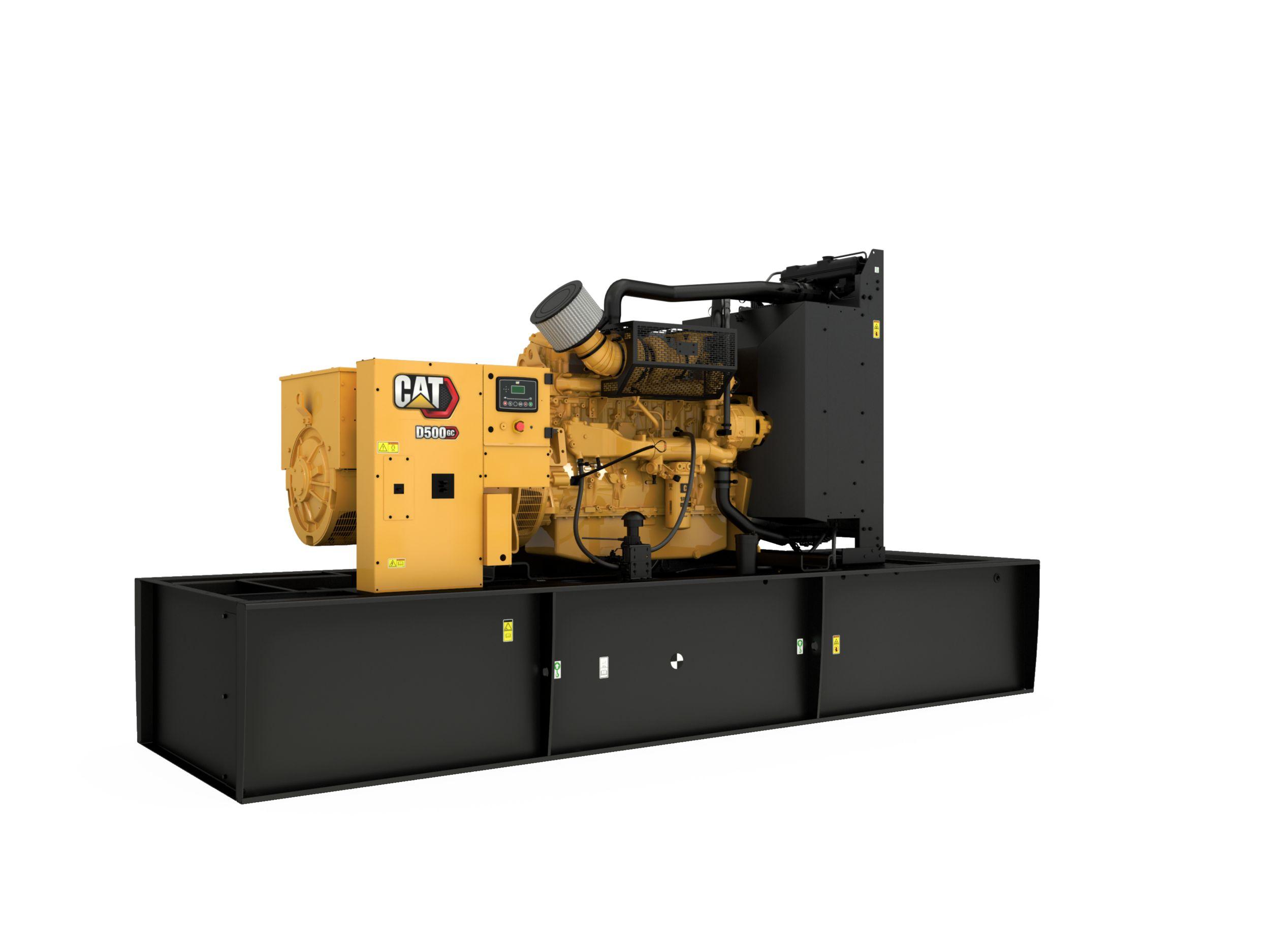 D450 GC/D500 GC (60 Hz) Generator Set
