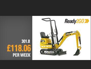 301.8 Next Gen Mini Excavator Special Offer