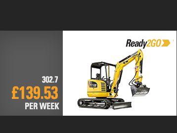 302.7D CR Mini Excavator Special Offer
