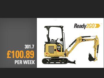 301.7CR Next Gen Mini Excavator Special Offer