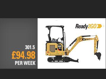 301.5 Next Gen Mini Excavator Special Offer