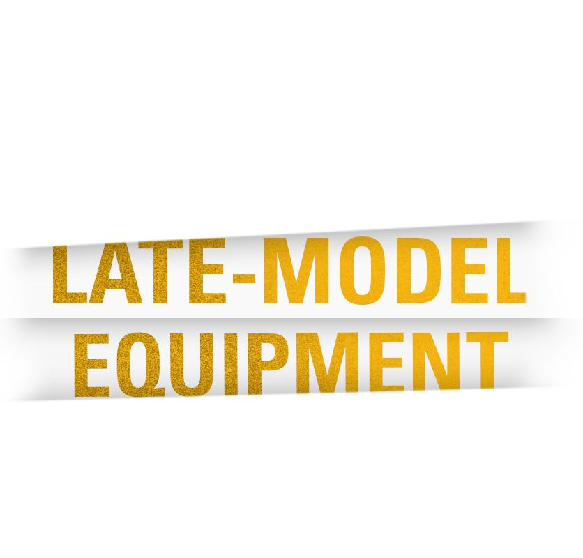 Late-Model Equipment
