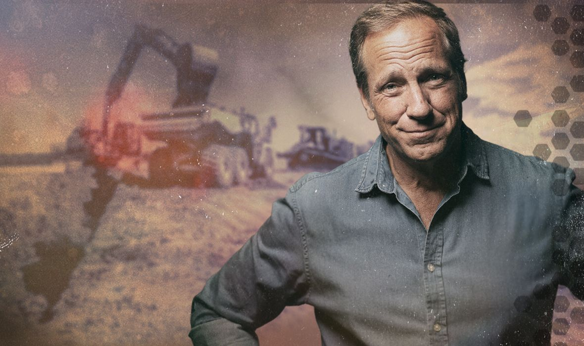 Mike Rowe on Construction Jobsite