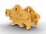 Acoplador con sujetapasador: perfil de zanjado (Varillaje CB): 389-7526