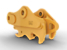 Pin Grabber Coupler - Trenching Profile (TB-Linkage): 390-0904