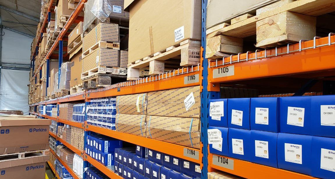 First customer receives Perkins parts from newly opened regional logistics centre in Curitiba, Brazil