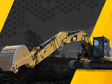 0.99% for 36 months on a New Cat Small Excavator