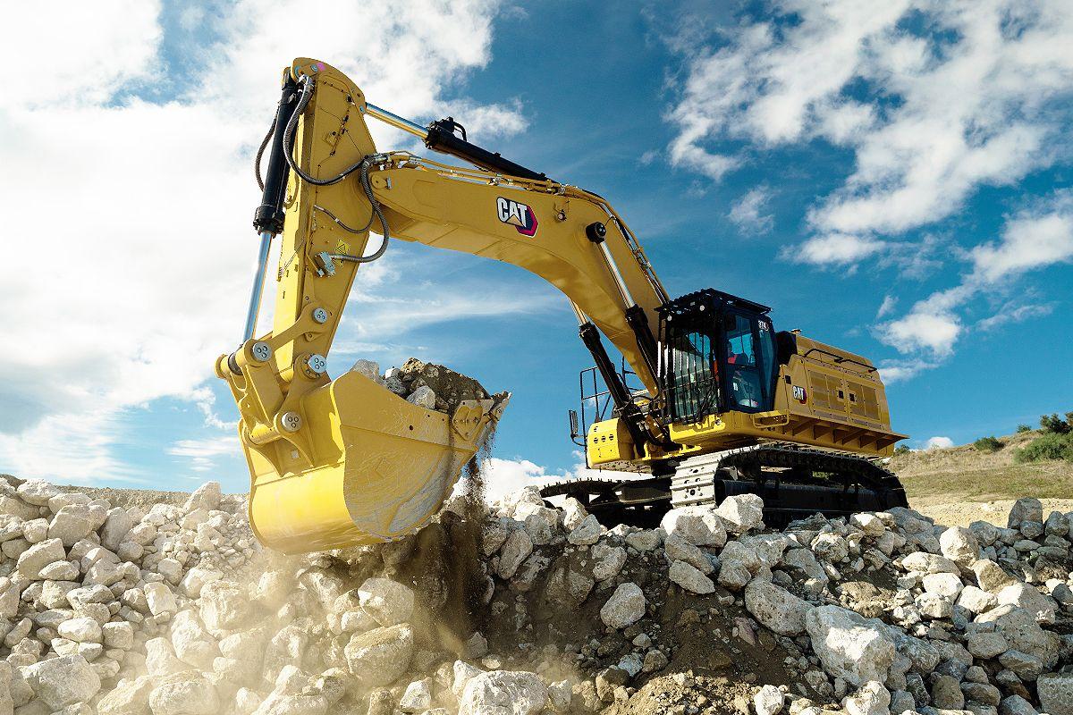 Cat 374 Hydraulic Excavator
