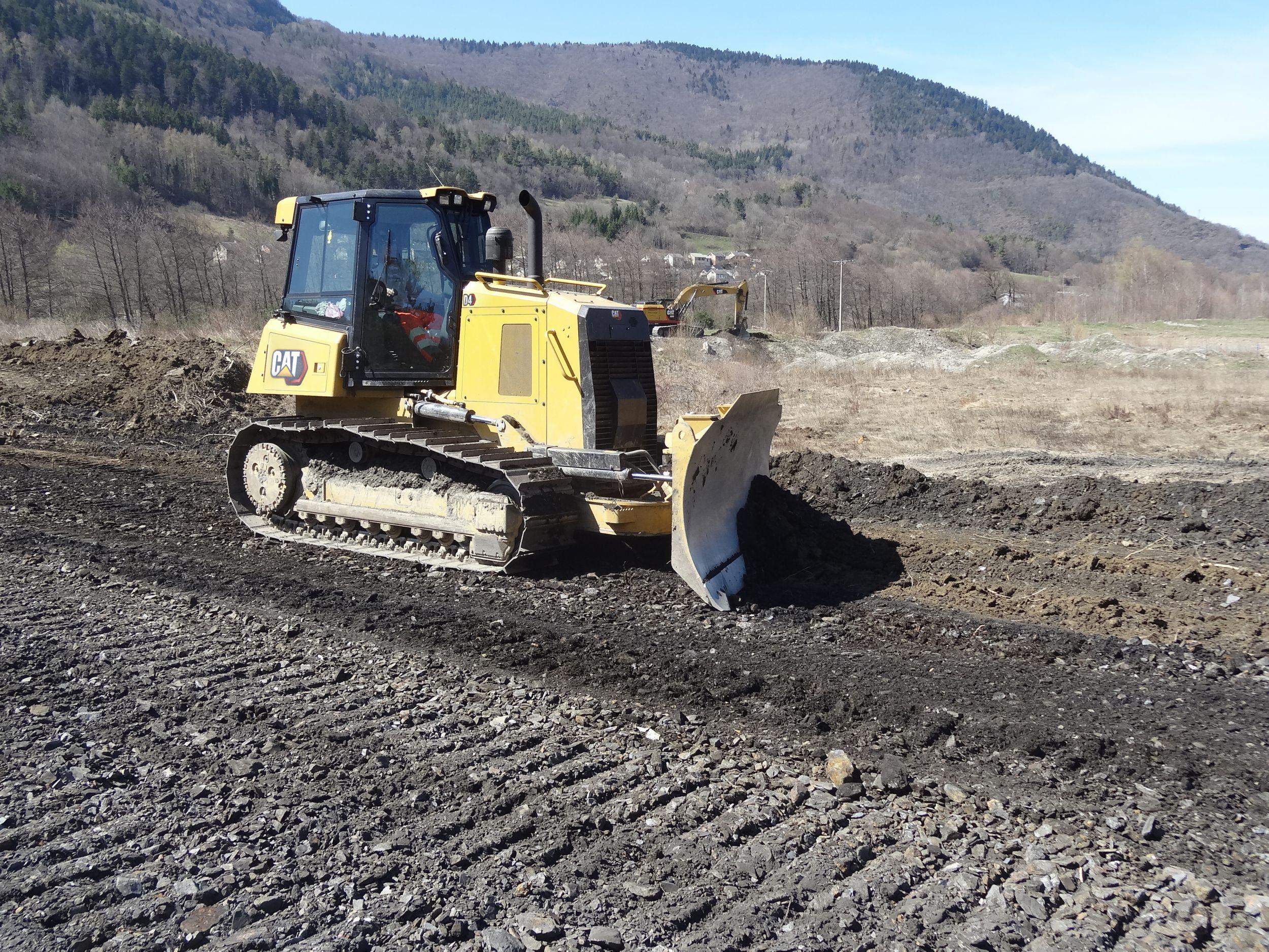 Tractor Topador D4