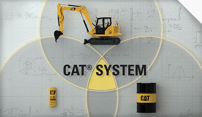 Cat filters & fluids | Cat System Diagram
