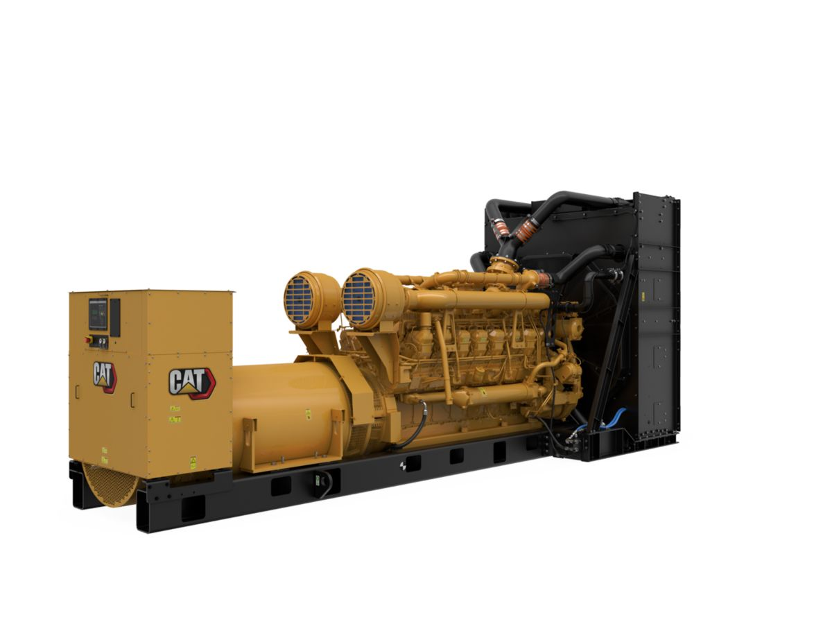 3516C Package Genset, Rear Right>