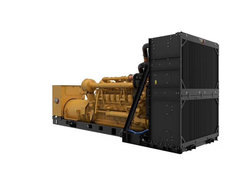3516C Package Genset, Front Left