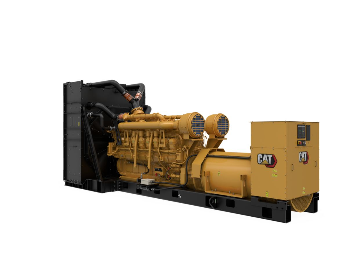3516C Package Genset, Rear Right