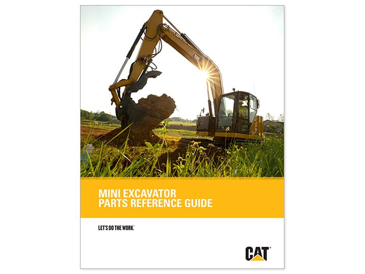 Mini Hydraulic Excavator Parts Reference Guide