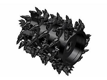 System K 1.0m Milling Drum (18mm spacing)