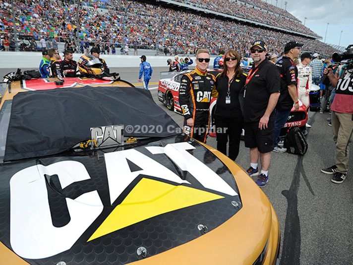 Cat Racing at the Daytona 500