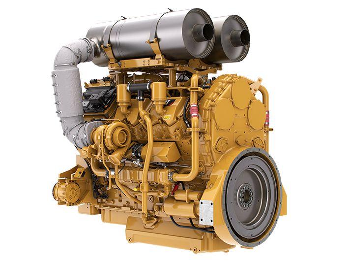 C32 Tier 4 Diesel Engines - Highly Regulated