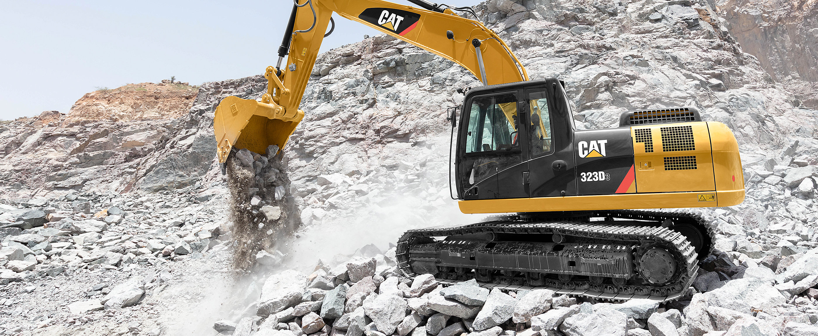 Cat 320D3 and 323D3 excavators are essential equipment for many construction contractors in India.