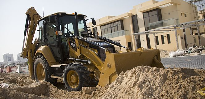 Versatile backhoe loader perform a variety of tasks with low operating costs.