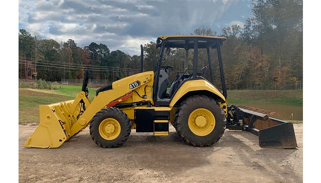 The 415 IL Industrial Loader.