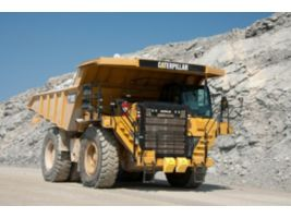 Cat Payload with Truck Produciton Management System