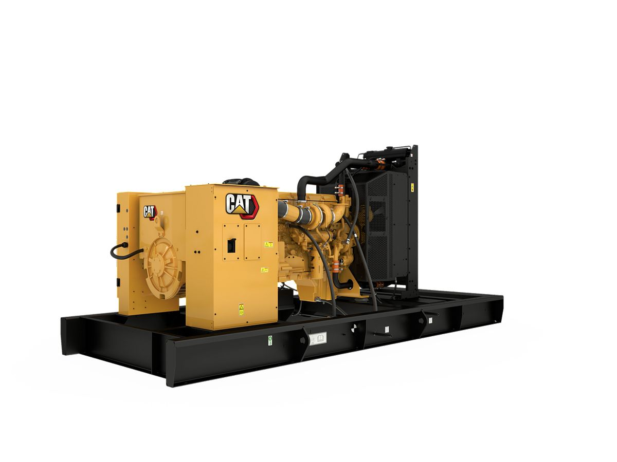 C13 Diesel Generator Front Right