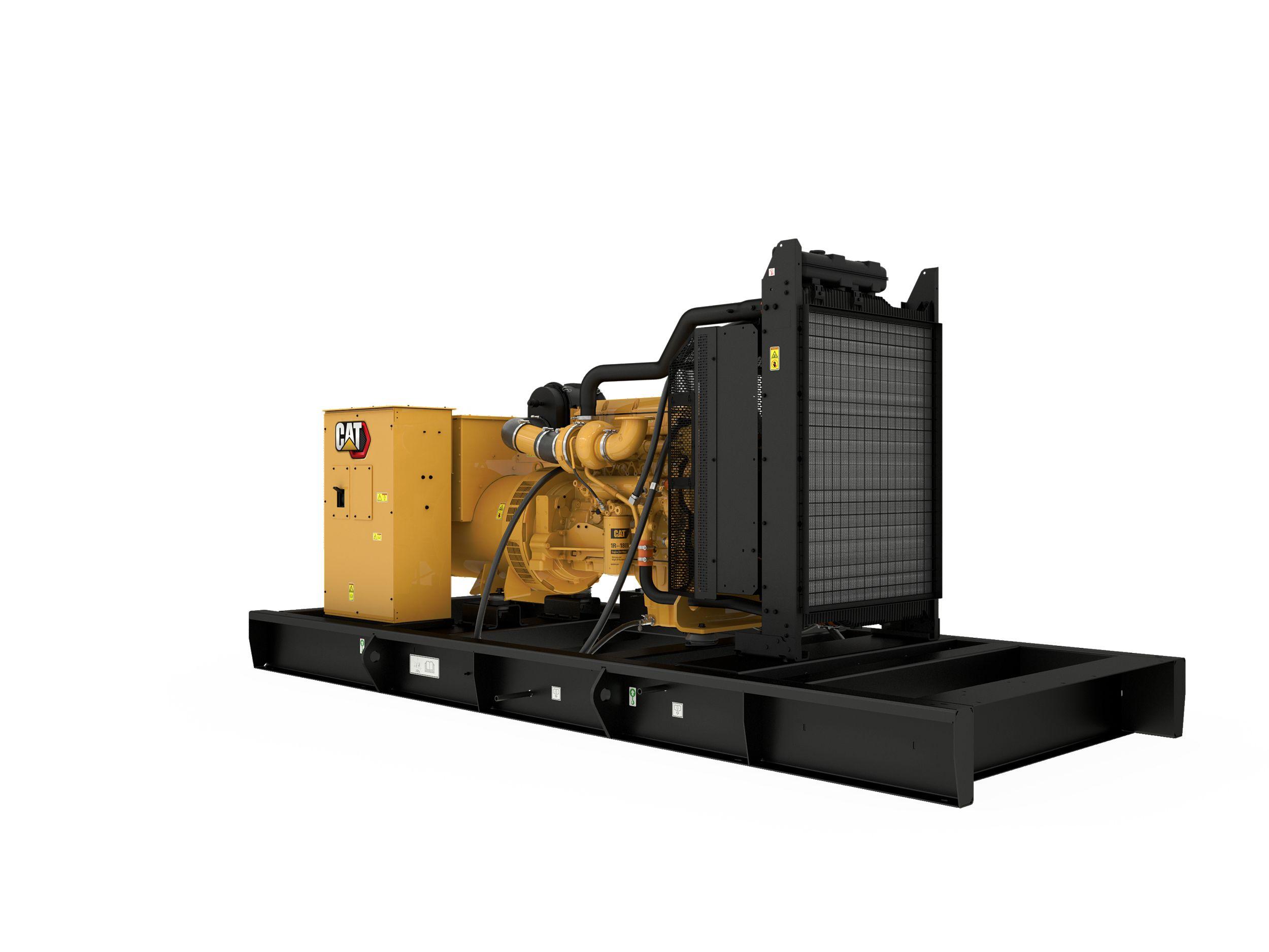 C13 NACD Diesel Generator Set Left