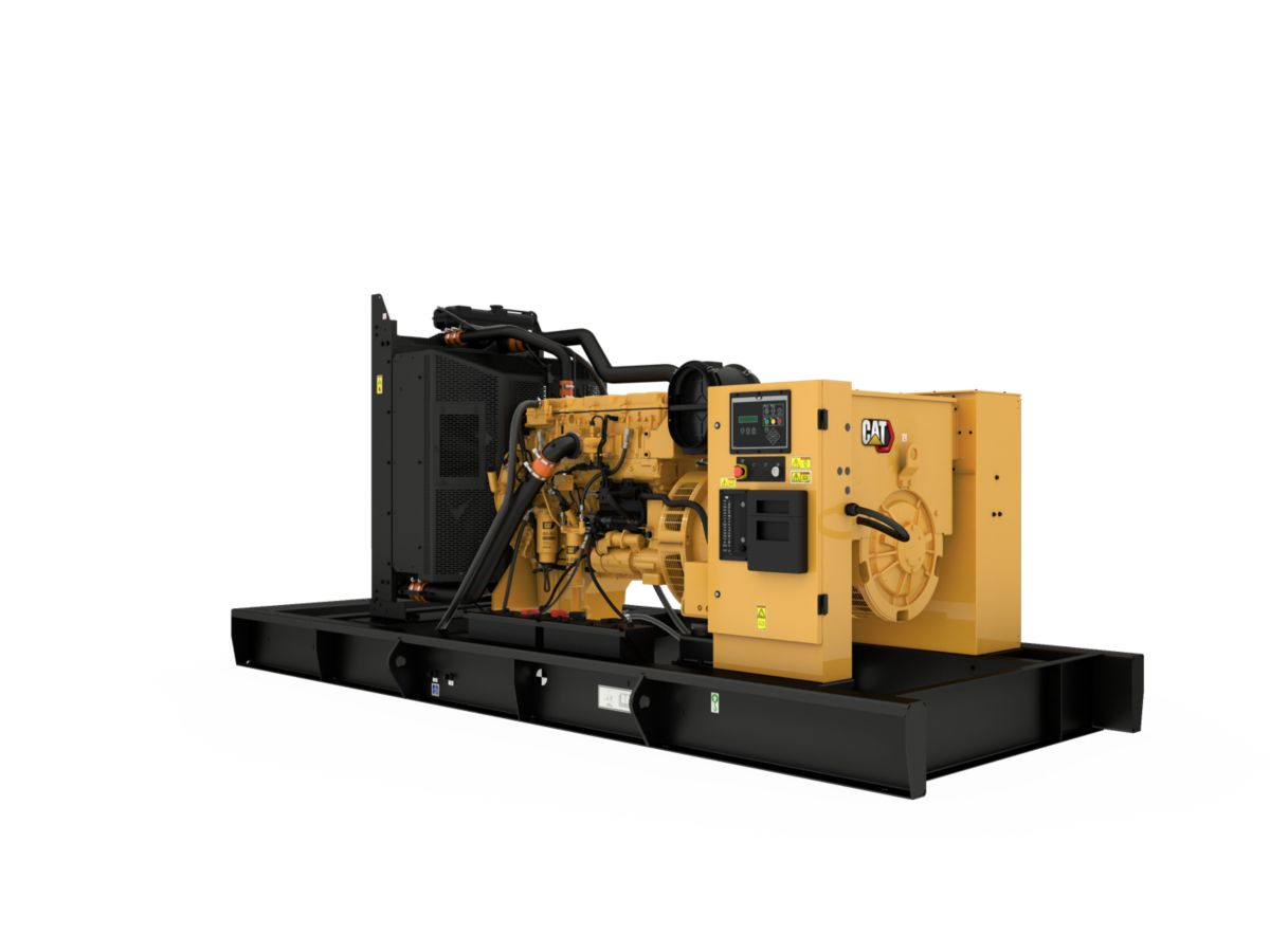 C13 Diesel Generator Rear Left>