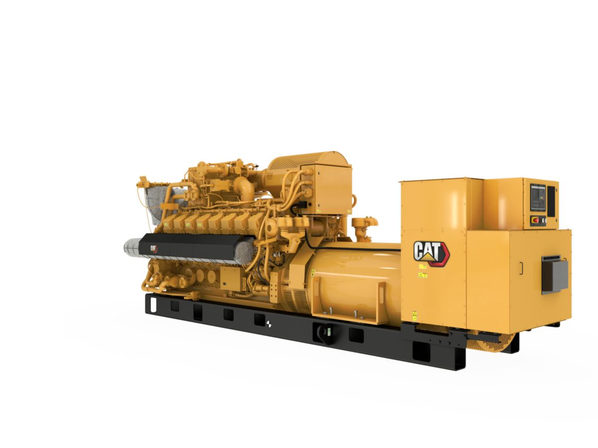 G3516H  Gas Generator Sets Rear Left View>