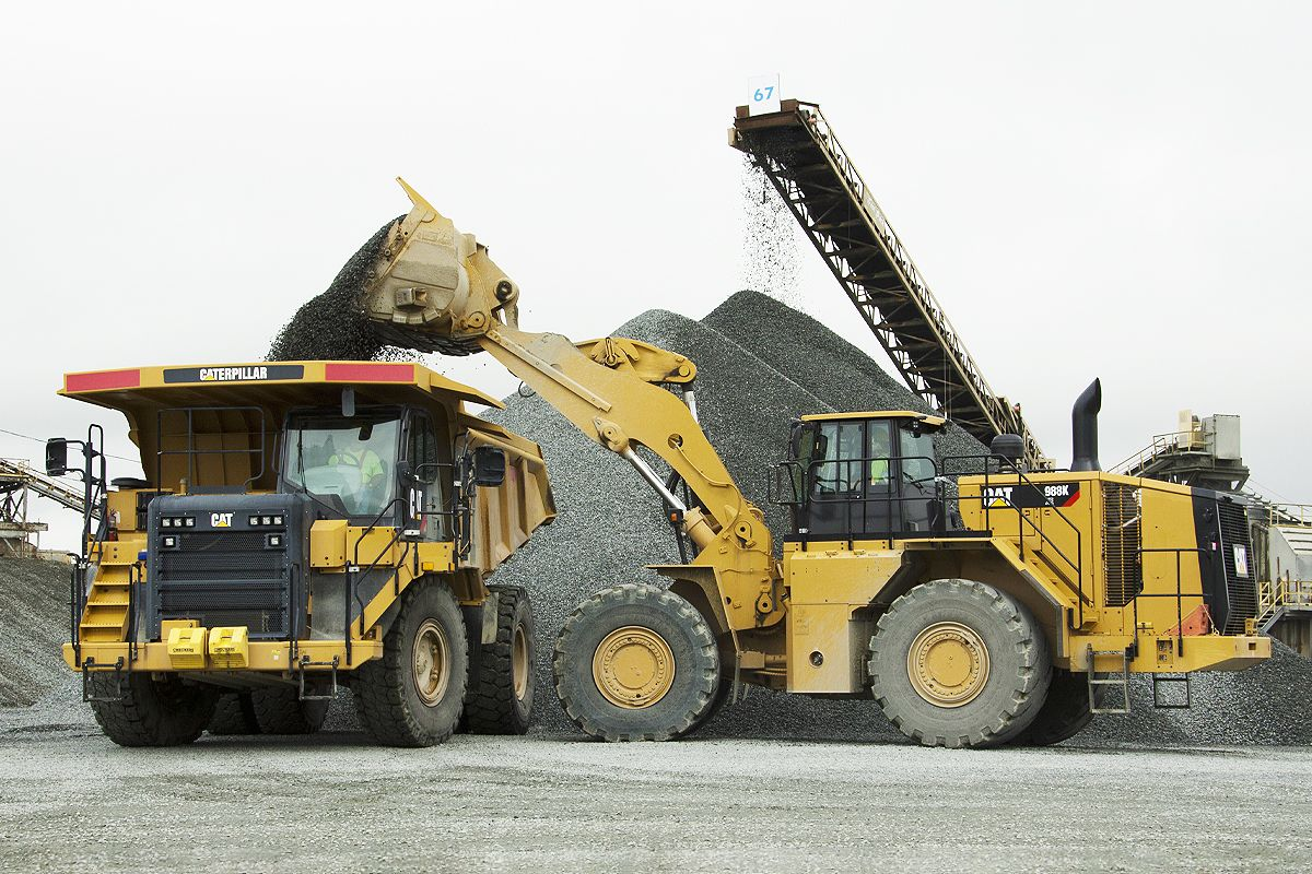 Cat Payload for Large Wheel Loaders