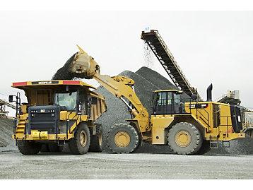 Cat Payload para palas de ruedas grandes
