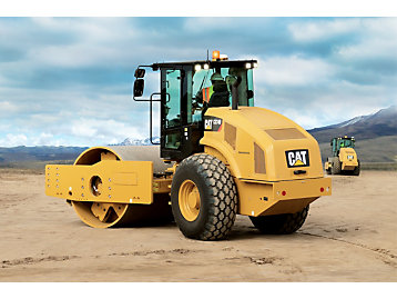 Cat Compact with Compaction Meter Value (CMV)