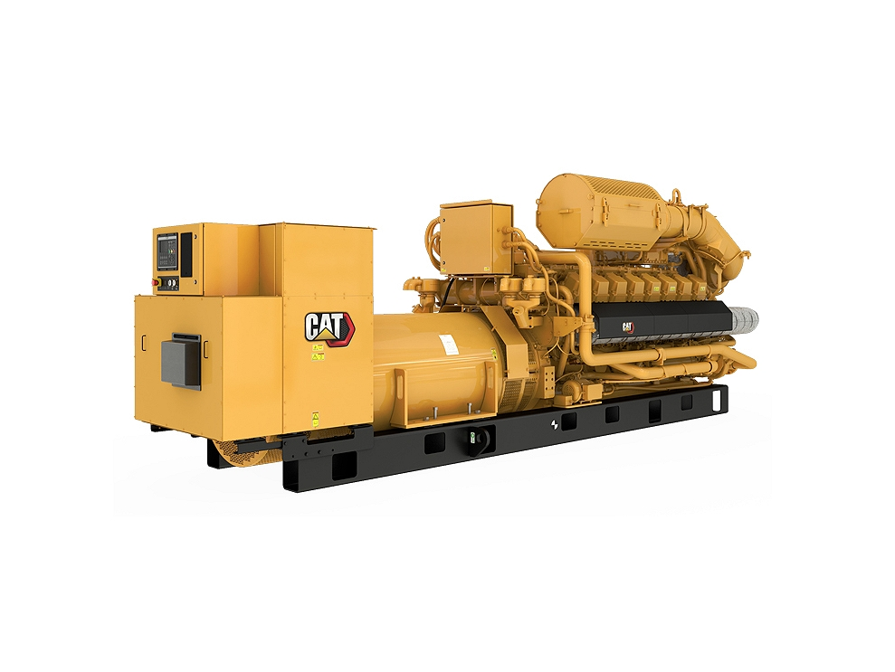 G3516H  Gas Generator Sets Right Rear view