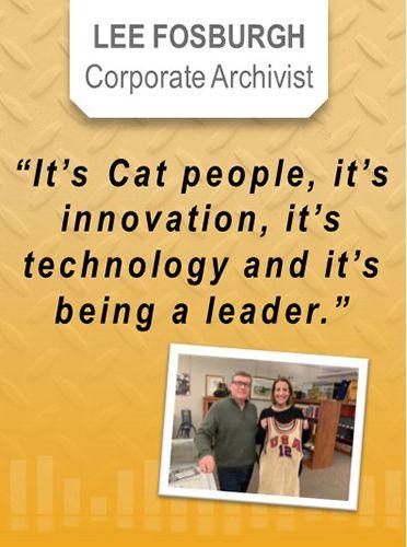 Lee Fosburgh, Corporate Archivist