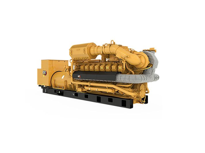 G3516H  Gas Generator Sets Front Right View>