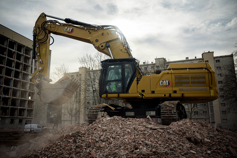 Purpose Built Cabs for Demolition Equipment