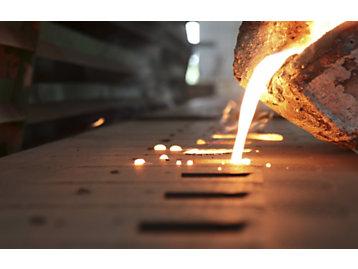 Gases de productos de acero