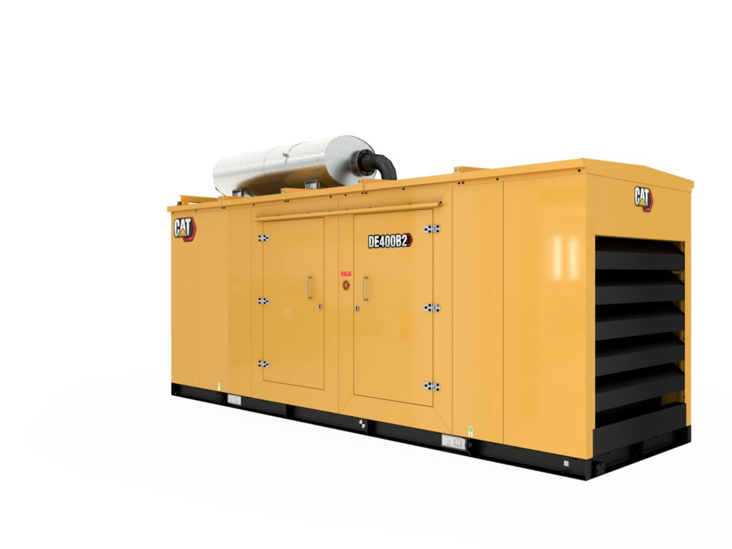 C13 Diesel Generator Enclosure>