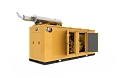 C13 Diesel Generator Enclosure Doors open