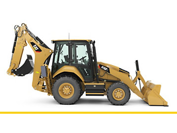 Cat® 416F2 retroexcavadoras, Caterpillar