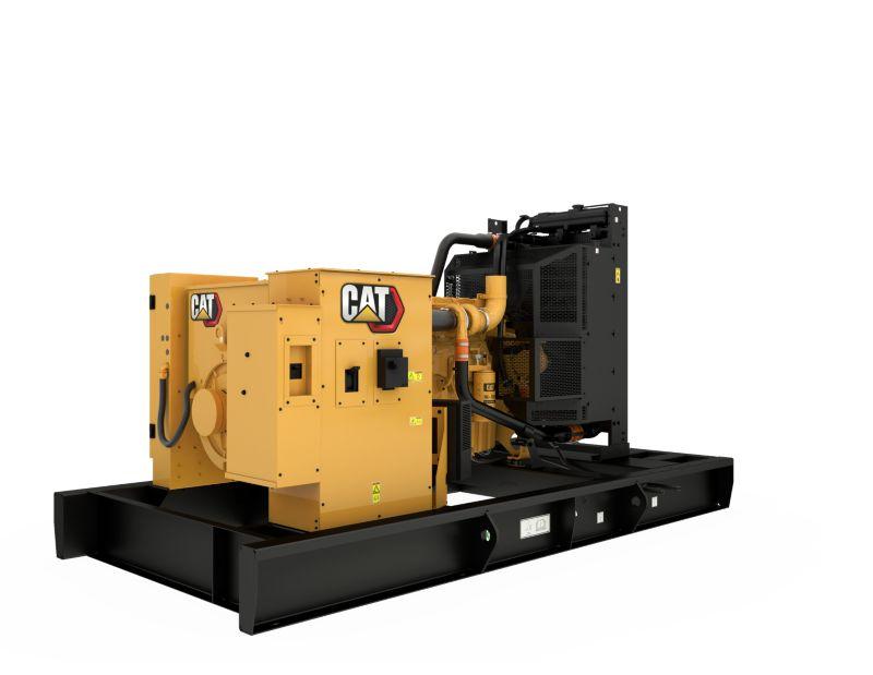 C9 Open Diesel Generating Set Rear Right