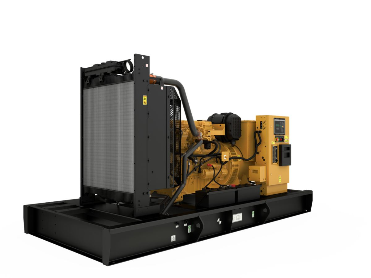 C9 Open Diesel Generating Set Front Left