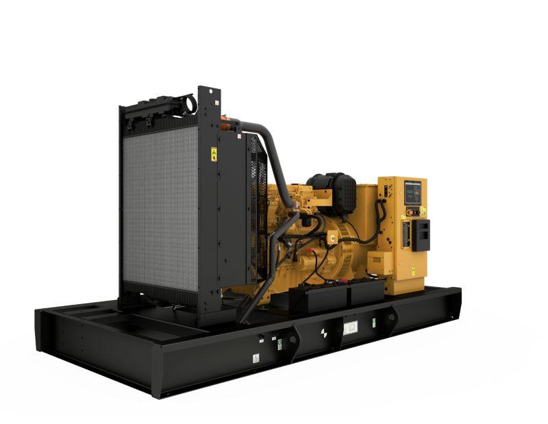 C9 Open Diesel Generating Set Front Left