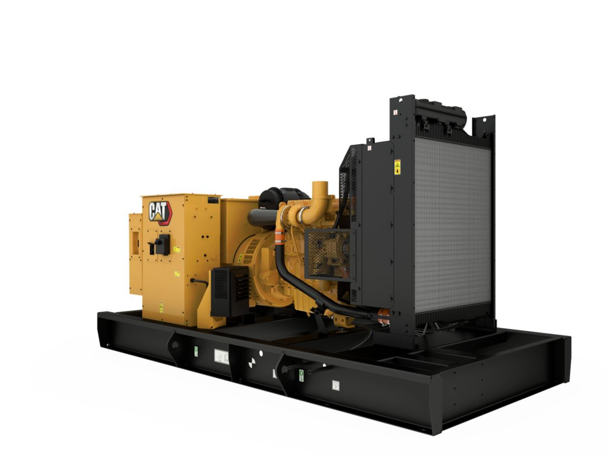 C9 Open Diesel Generating Set Front Right