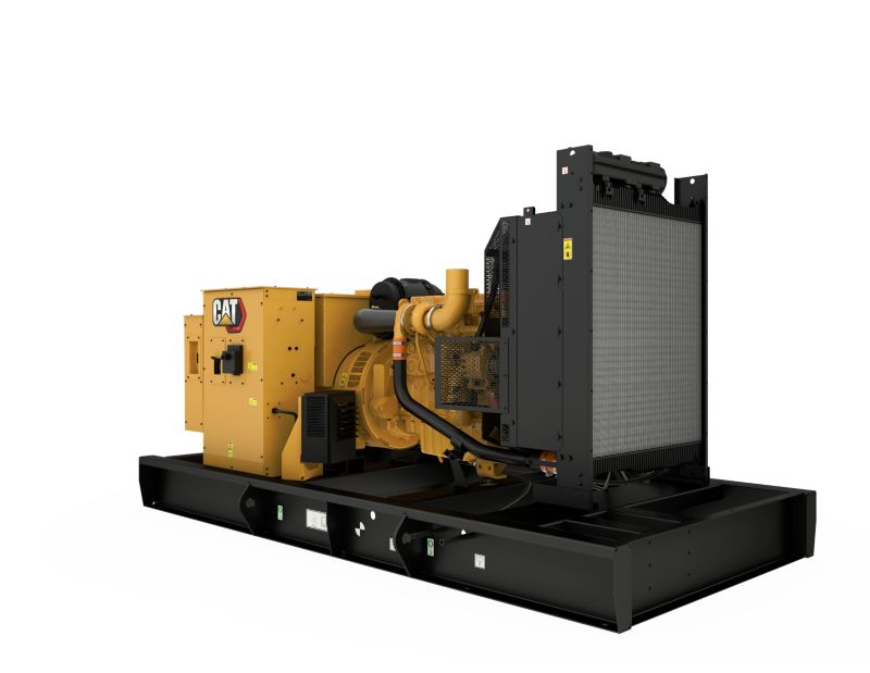 C9 Open Generating Set Front Right