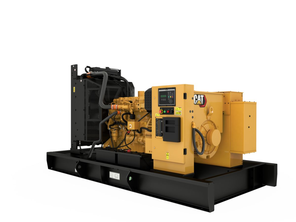 C9 Open Diesel Generating Set Rear Left