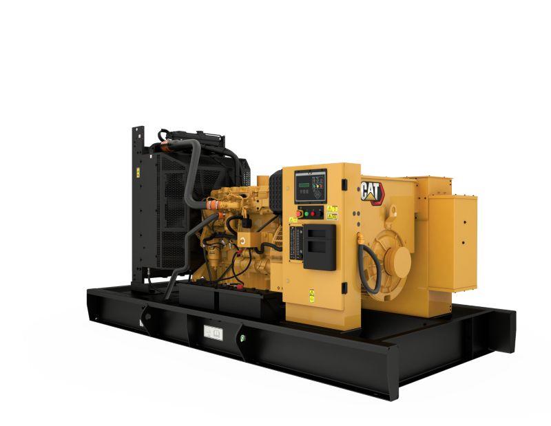 C9 Open Diesel Generating Set Rear Left