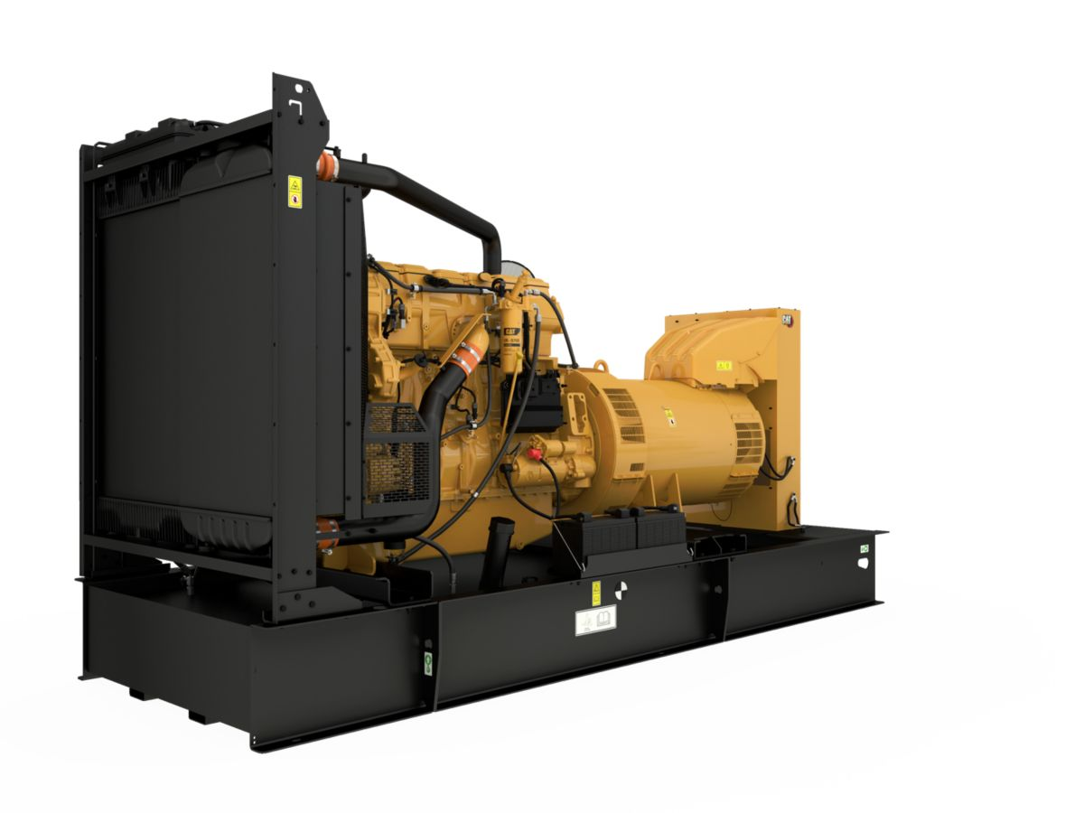 product-C18 generator set, Front Left