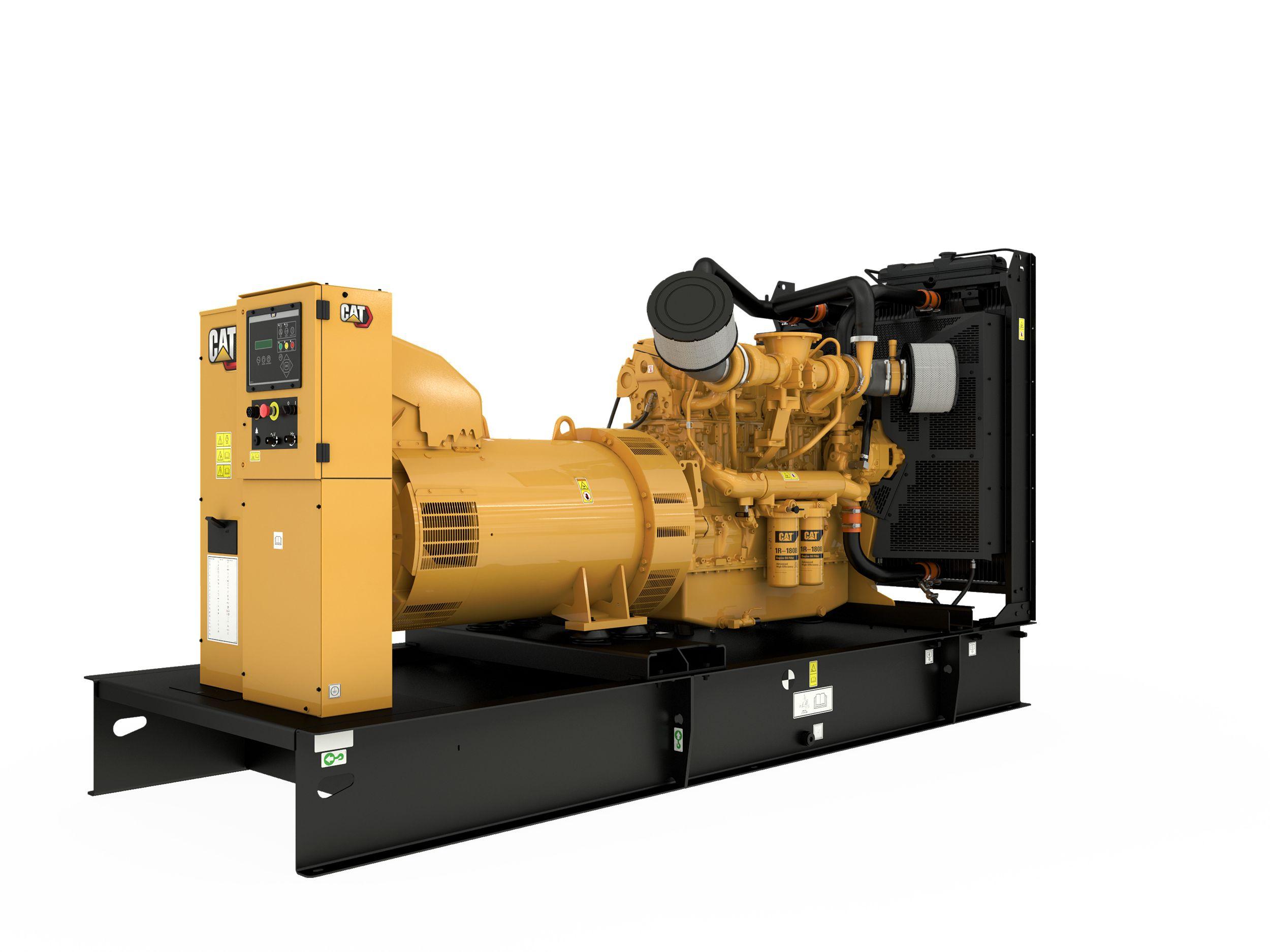 C18 generator set, rear right