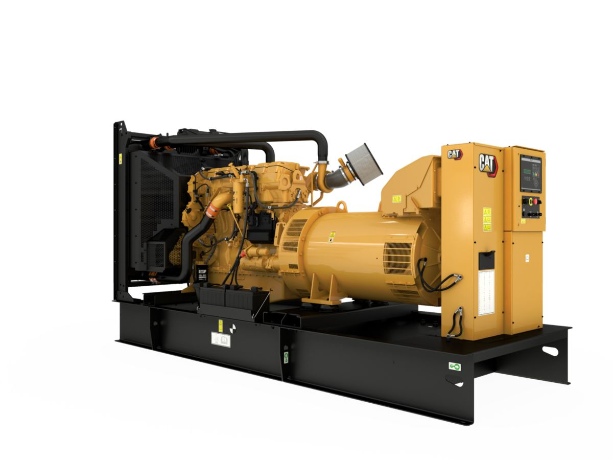 product-C18 generator set, rear left